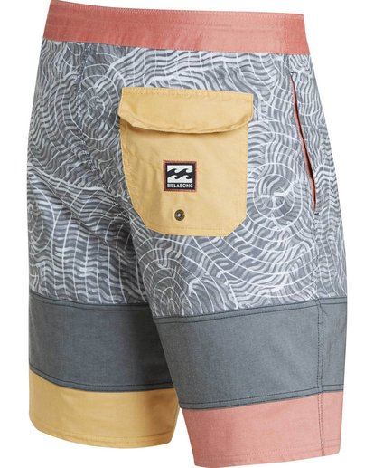 3 Pump Lo Tides Boardshorts Black M119MPUM Billabong