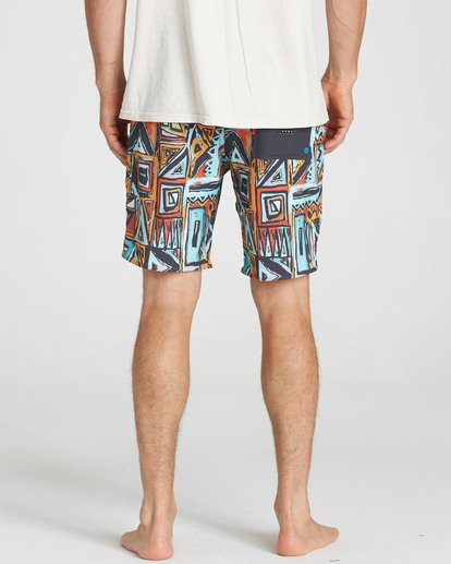 5 Sundays X Boardshorts Red M120NBSU Billabong