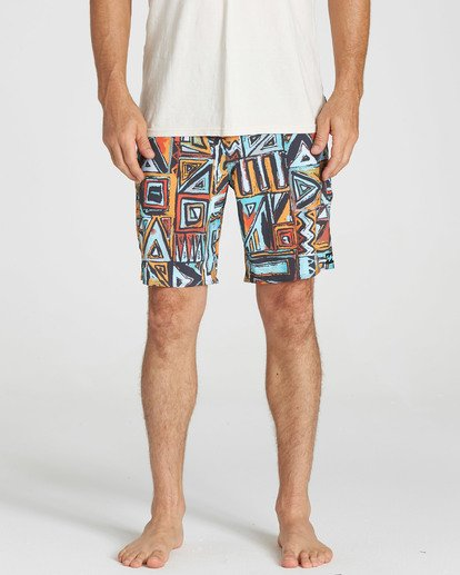 4 Sundays X Boardshorts Red M120NBSU Billabong
