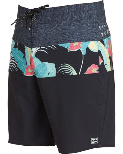 2 Tribong Pro Boardshorts Black M120TBTB Billabong