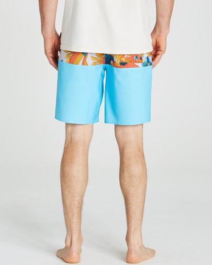 4 Tribong X Boardshorts Blue M121NBTB Billabong