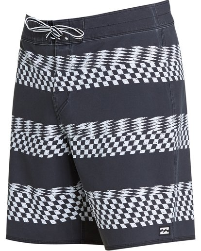 1 Sundays X Stripe Boardshorts Black M123QBSS Billabong