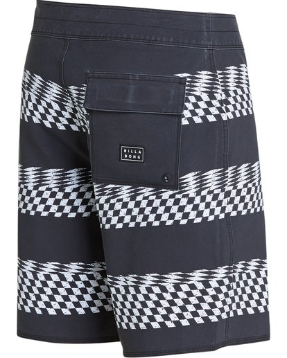 2 Sundays X Stripe Boardshorts Black M123QBSS Billabong
