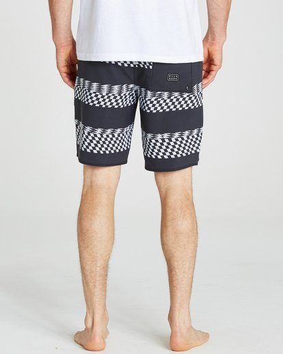 4 Sundays X Stripe Boardshorts Black M123QBSS Billabong