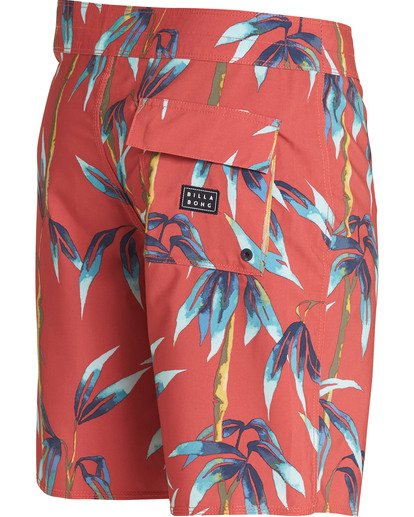 3 Sundays Pro Boardshorts Red M123TBSU Billabong