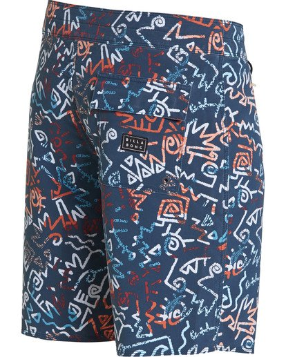 3 Sundays Pro Boardshorts Blue M123TBSU Billabong
