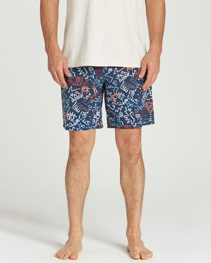 4 Sundays Pro Boardshorts Blue M123TBSU Billabong