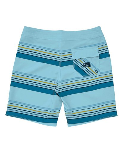 1 Sundays Stripe Pro Boardshorts Blue M124TBSS Billabong