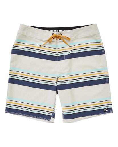 0 Sundays Stripe Pro Boardshorts Grey M124TBSS Billabong
