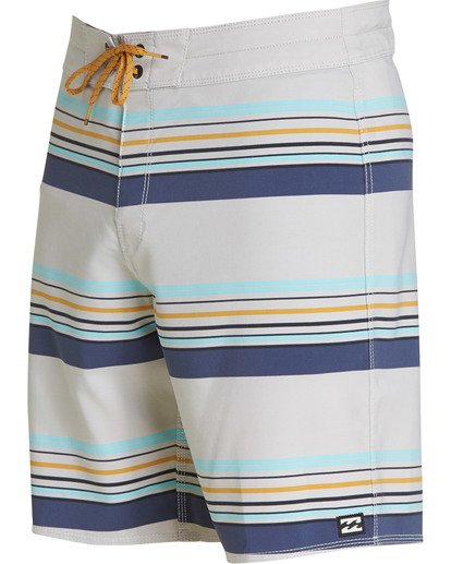 1 Sundays Stripe Pro Boardshorts Grey M124TBSS Billabong