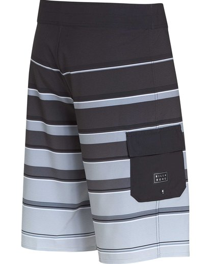 2 All Day X Stripe Boardshorts Black M125NBAS Billabong