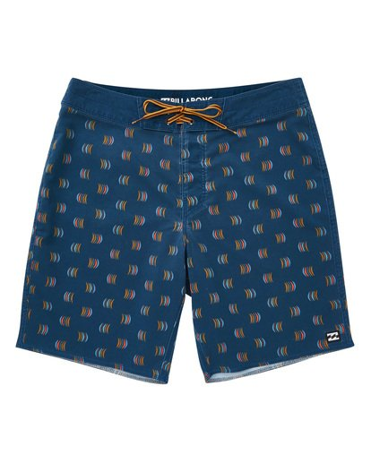 0 Sundays Mini Pro Boardshorts Blue M125TBSM Billabong