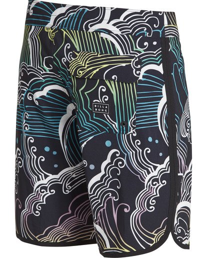 3 73 Lineup Pro Boardshorts Black M126TBSL Billabong