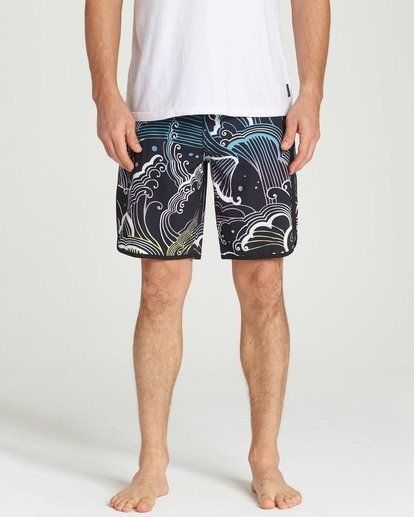 4 73 Lineup Pro Boardshorts Black M126TBSL Billabong