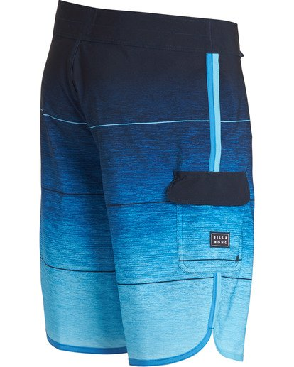 2 73 Stripe Pro Boardshorts Blue M127TBST Billabong