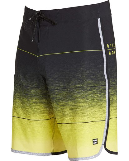 1 73 Stripe Pro Boardshorts Yellow M127TBST Billabong