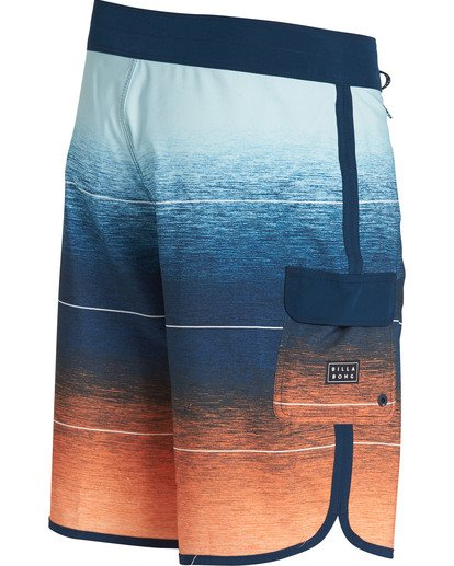 2 73 Stripe Pro Boardshorts Orange M127TBST Billabong