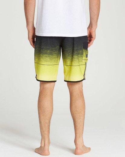 4 73 Stripe Pro Boardshorts Yellow M127TBST Billabong