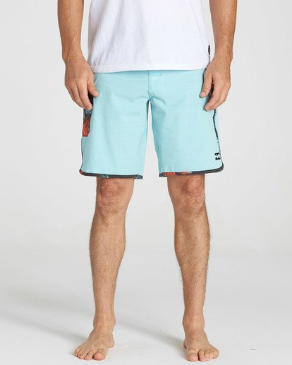 4 73 X Boardshorts Green M128NBST Billabong