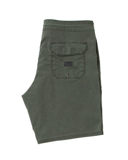 3 Wave Washed Lo Tides Boardshorts Green M128QBWS Billabong