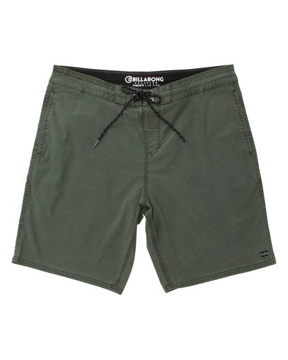 0 Wave Washed Lo Tides Boardshorts Green M128QBWS Billabong