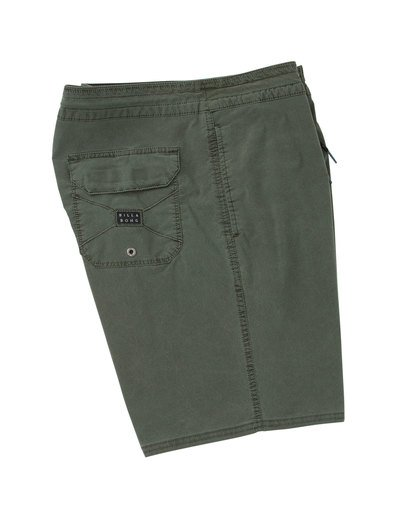 2 Wave Washed Lo Tides Boardshorts Green M128QBWS Billabong