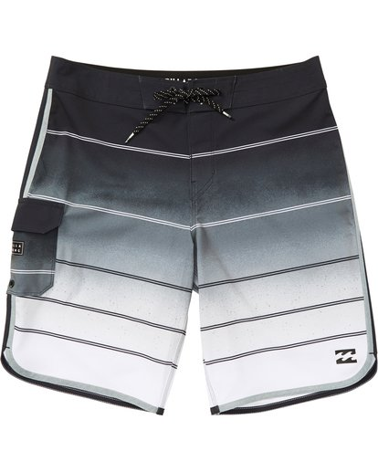0 73 X Stripe Boardshorts Grey M129NBSS Billabong