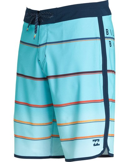 1 73 X Stripe Boardshorts Green M129NBSS Billabong