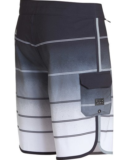 3 73 X Stripe Boardshorts Grey M129NBSS Billabong