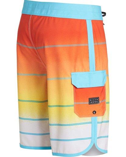 2 73 X Stripe Boardshorts Yellow M129NBSS Billabong