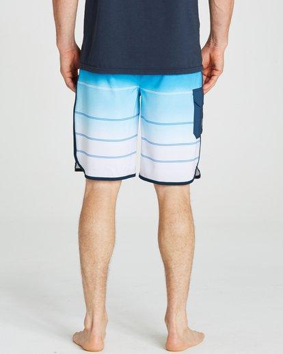 5 73 X Stripe Boardshorts Blue M129NBSS Billabong
