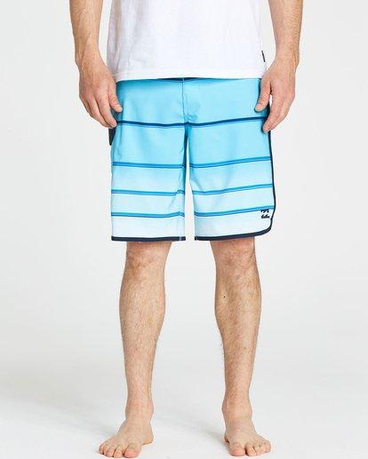3 73 X Stripe Boardshorts Blue M129NBSS Billabong