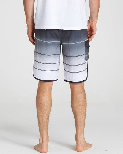 5 73 X Stripe Boardshorts Grey M129NBSS Billabong
