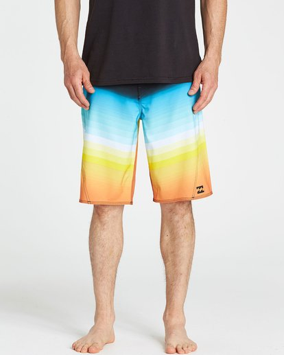 3 Fluid X Boardshorts Blue M130NBFL Billabong