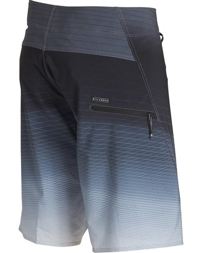 3 Fluid Pro Boardshorts Grey M131TBFL Billabong