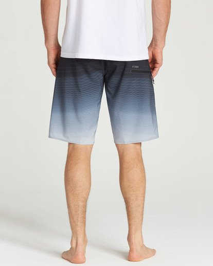 5 Fluid Pro Boardshorts Grey M131TBFL Billabong