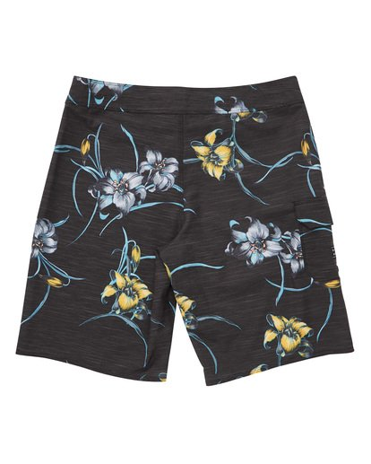 1 All Day Floral Pro Boardshorts Black M132TBAF Billabong