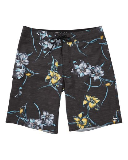 0 All Day Floral Pro Boardshorts Black M132TBAF Billabong