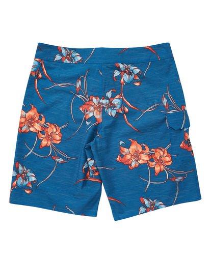 1 All Day Floral Pro Boardshorts Blue M132TBAF Billabong
