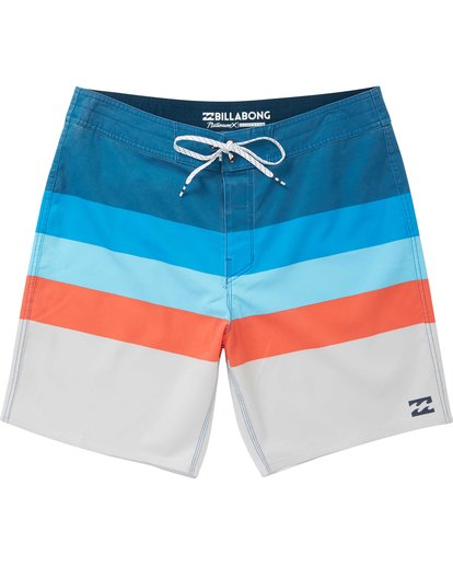 0 Momentum X Short Boardshorts Blue M133NBMO Billabong