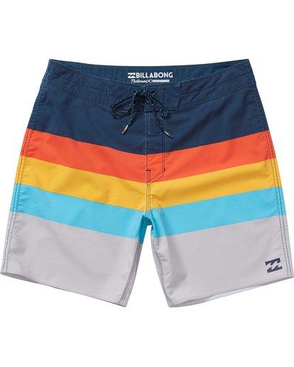 0 Momentum X Short Boardshorts Orange M133NBMO Billabong