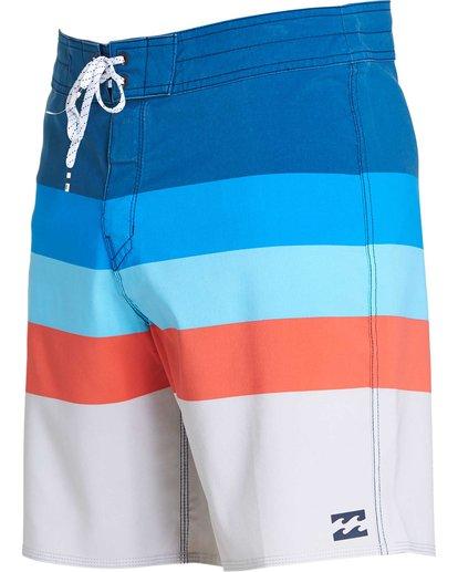 1 Momentum X Short Boardshorts Blue M133NBMO Billabong