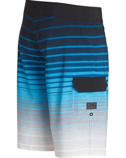 2 All Day Stripe Pro Boardshorts Blue M133TBAS Billabong