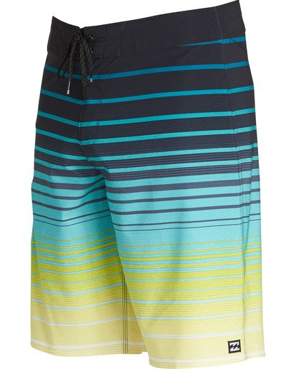 1 All Day Stripe Pro Boardshorts Yellow M133TBAS Billabong