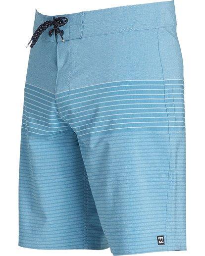 1 All Day Heather Stripe Pro Boardshorts Blue M134TBAH Billabong