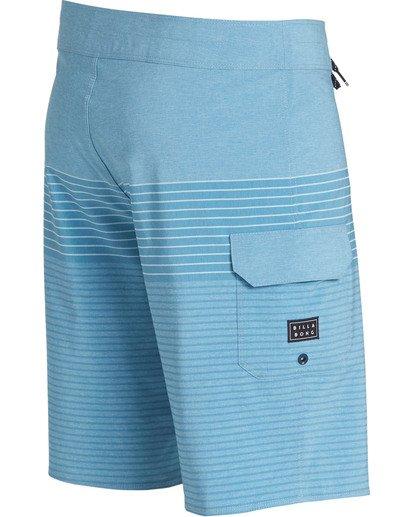 2 All Day Heather Stripe Pro Boardshorts Blue M134TBAH Billabong