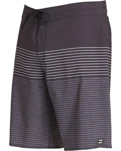 1 All Day Heather Stripe Pro Boardshorts Grey M134TBAH Billabong