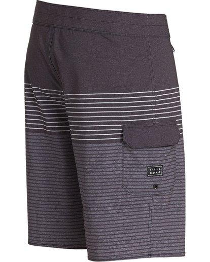 2 All Day Heather Stripe Pro Boardshorts Grey M134TBAH Billabong