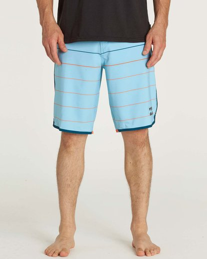 1 73 X Stripe Boardshorts Blue M138JSTX Billabong