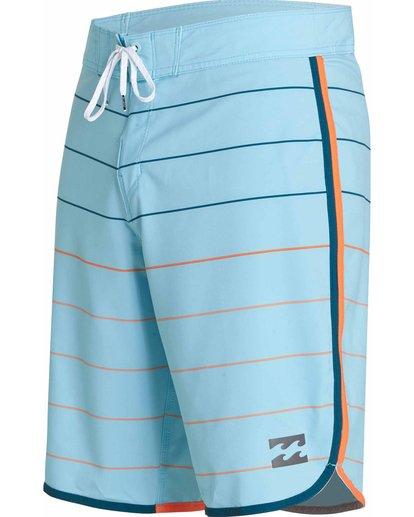 2 73 X Stripe Boardshorts Blue M138JSTX Billabong